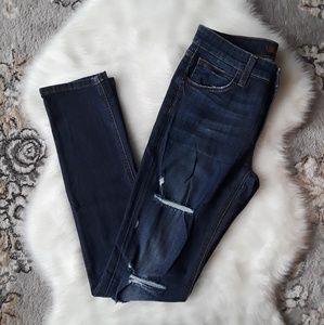 Joe's Jeans Boyfriend Slim Distressed Denim